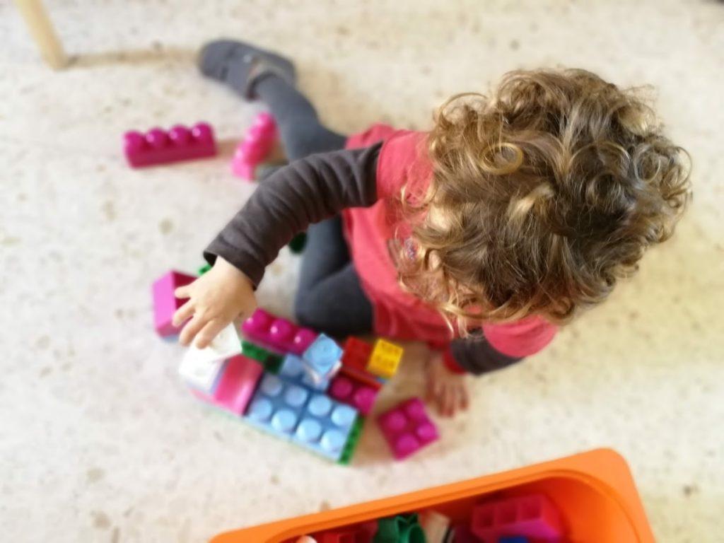 Bloques de construcción para bebés