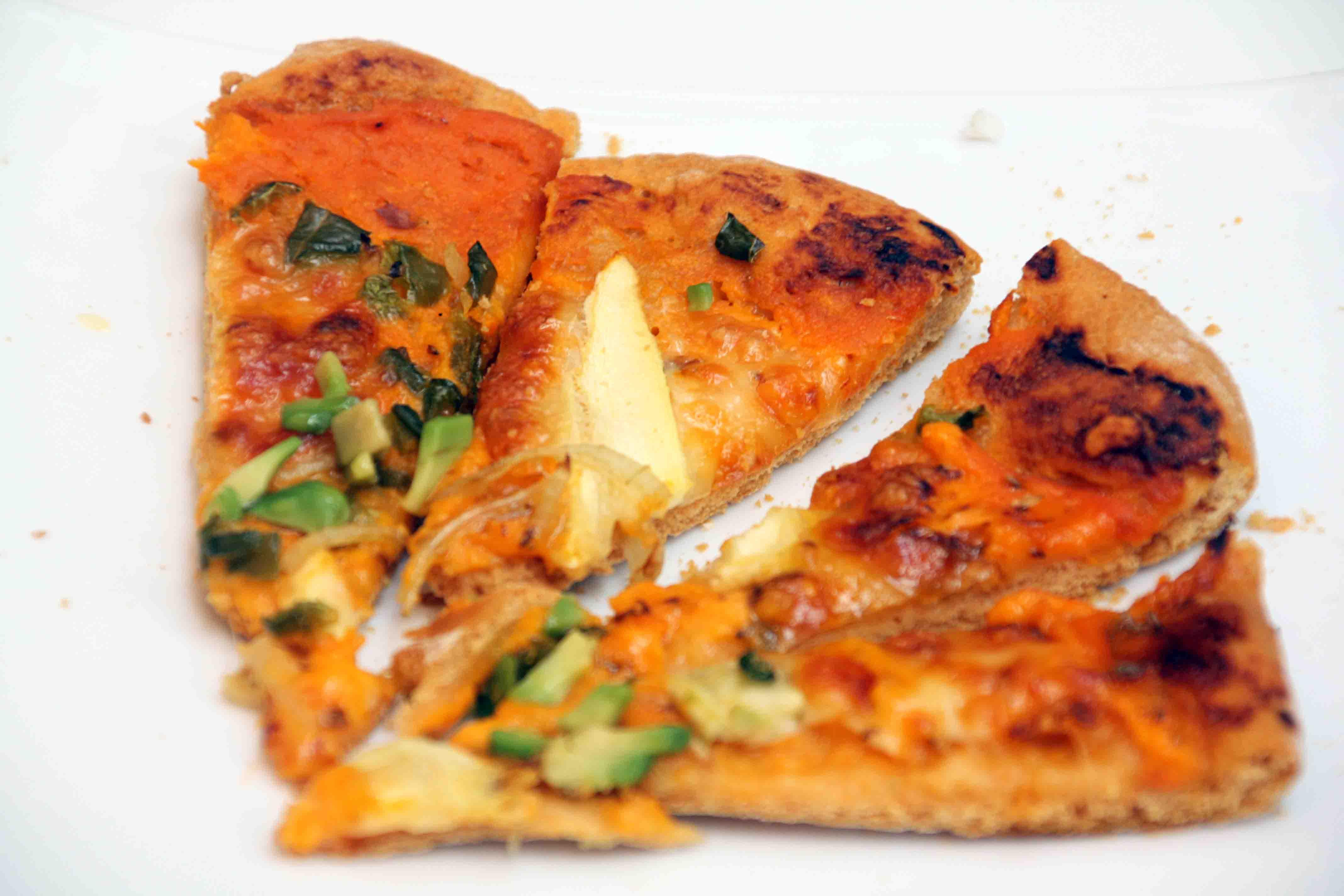 Masa casera de pizza al pimentón