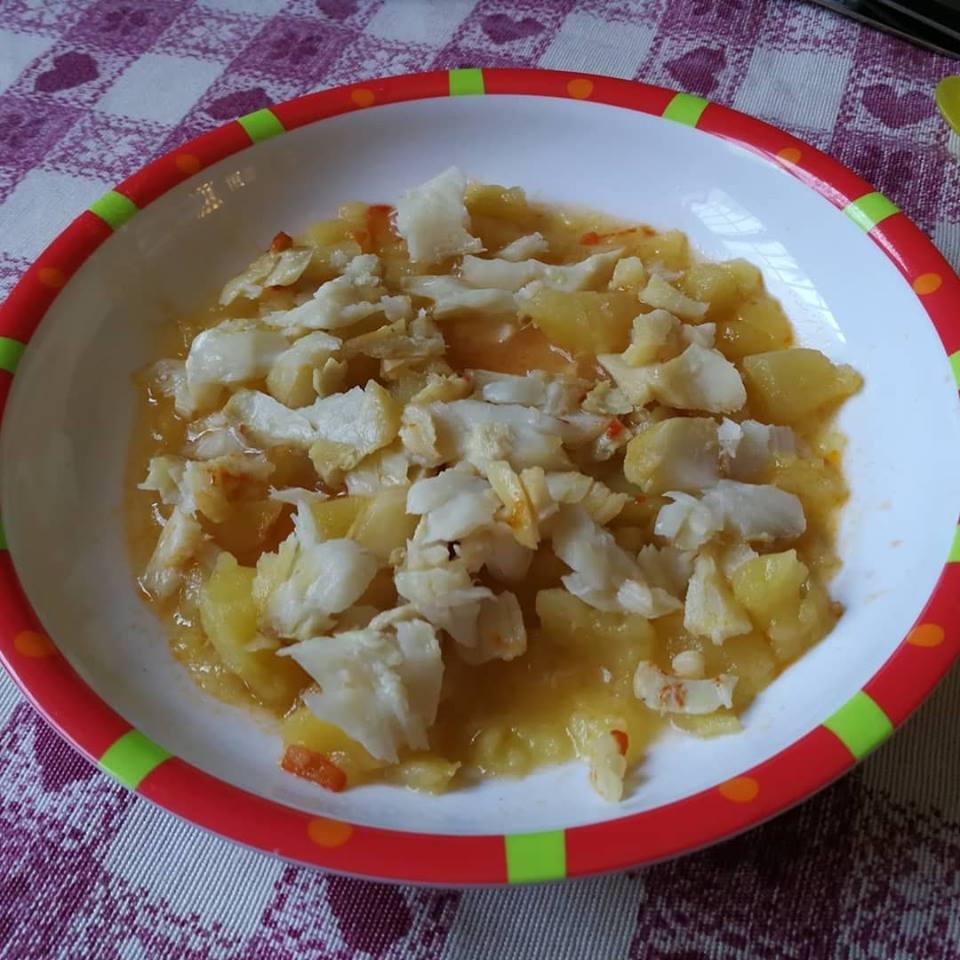 Guiso de merluza y patatas