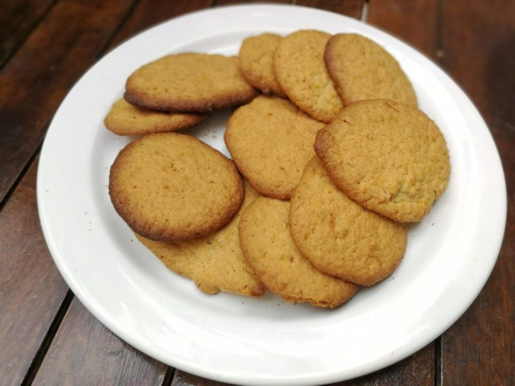 Galletas de coco blw