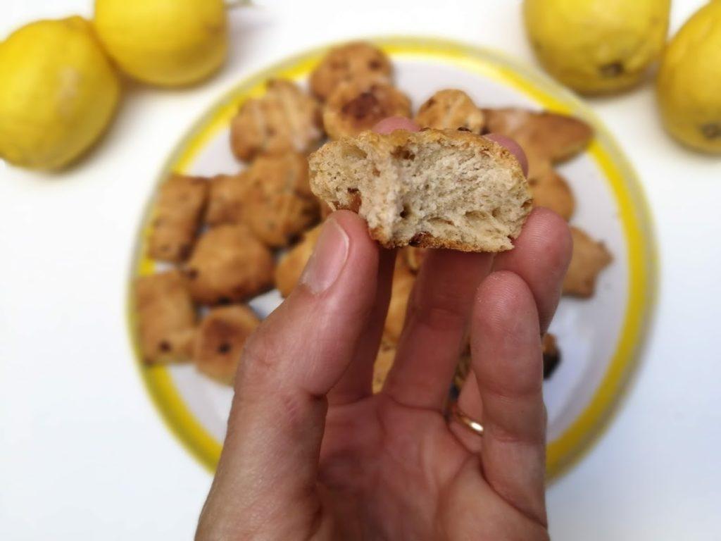 Galletas blw de limón, con dátiles y sin azúcar