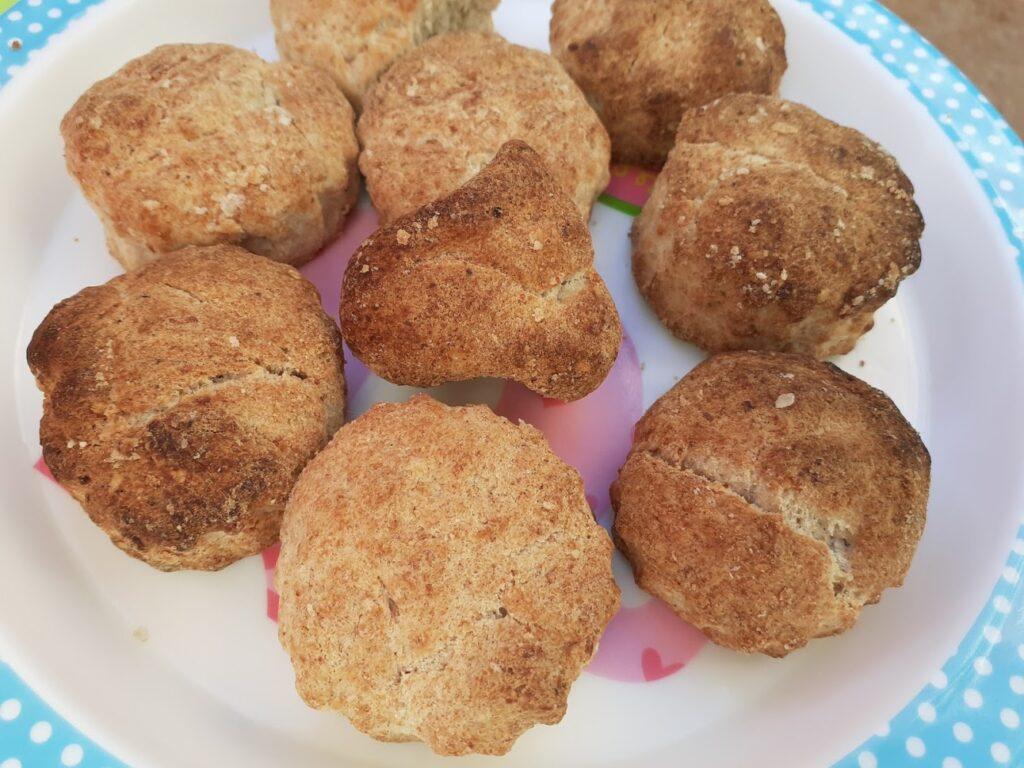 Tortas de manteca sin azúcar añadida, apta para blw
